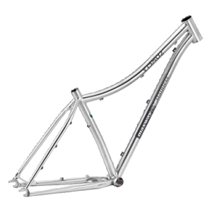 Y15M02 Stainless Mountain Bike Frame