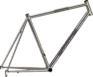 Y13R03 Stainless Bike Frame w/ Caliper Brake
