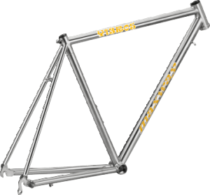 Y13R05 Stainless Racing Bike Frame