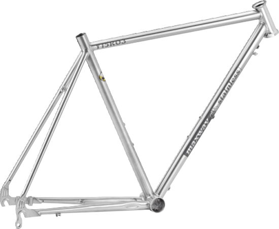 Y15R03 Stainless Steel Racing Bicycle Frame