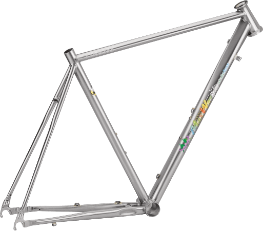 Y16R02 Steel Bicycle Frame