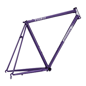 Y15R01 Cr-Mo Lugged Racing Bike Frame